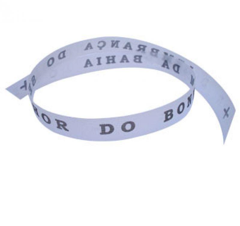 Senhor do Bonfim wish ribbon Branco